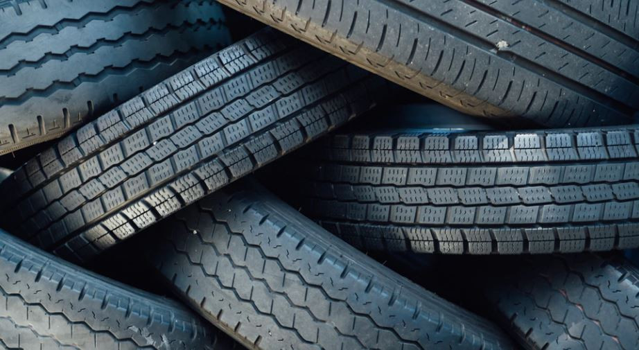 rubber tires recycling