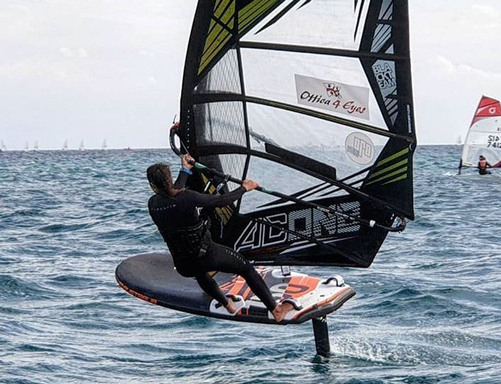 Marta Maggeti ITA 157 windfoiling