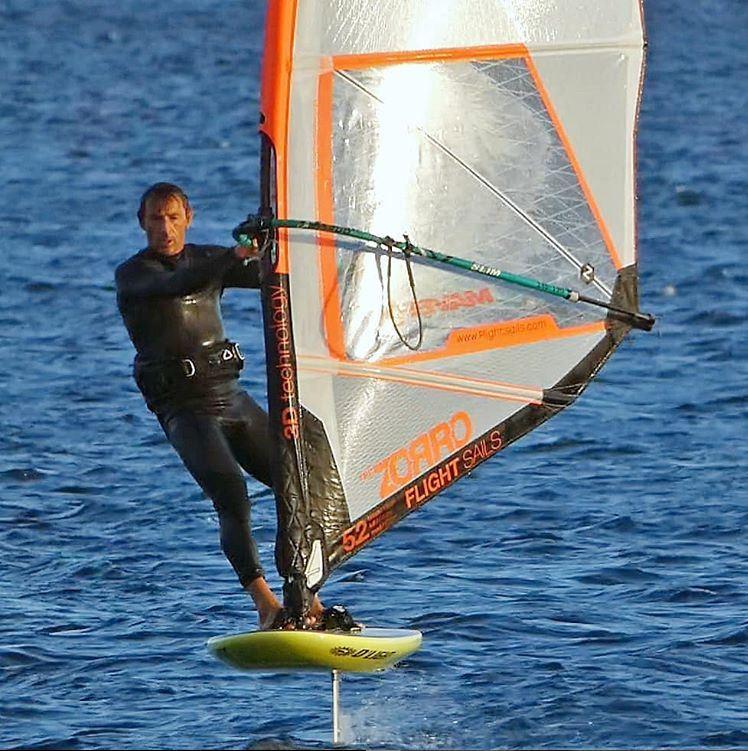 d'light windsurf foil board