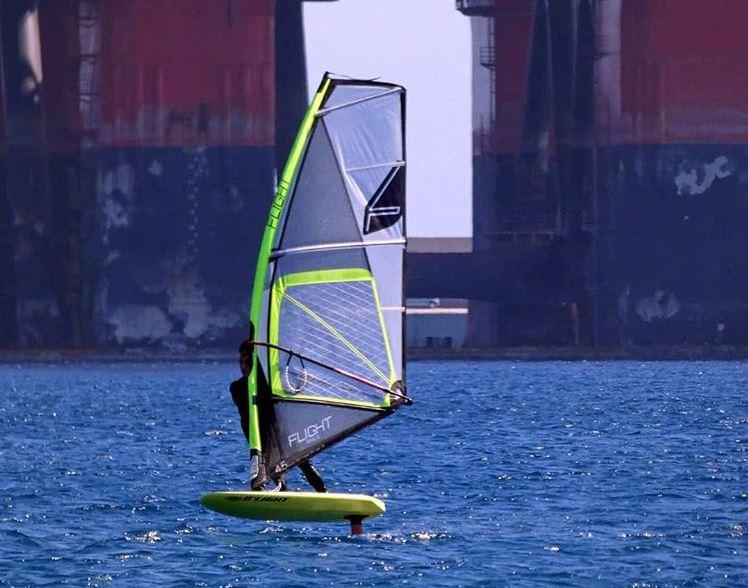 windsurf foiling board d'light