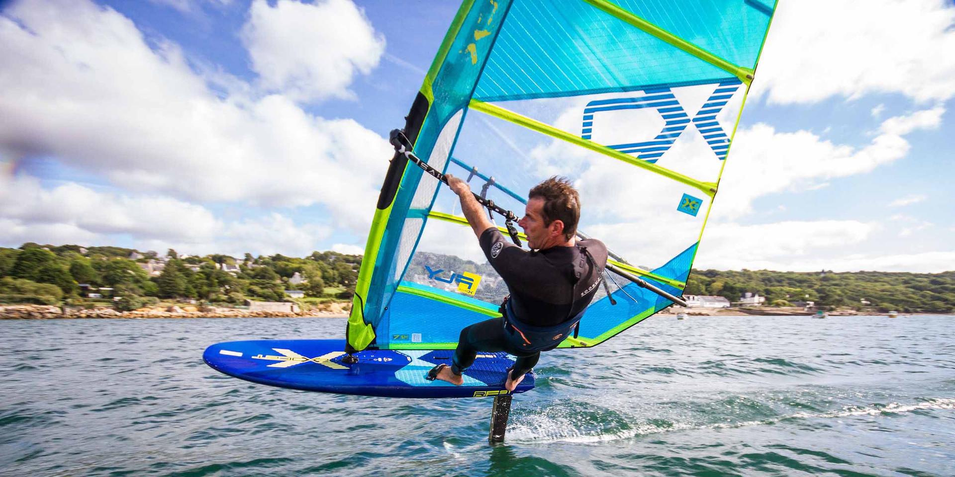 xo windsurf foiling sail