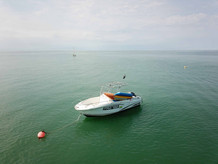 Our fast boat for the safety and the fun!!