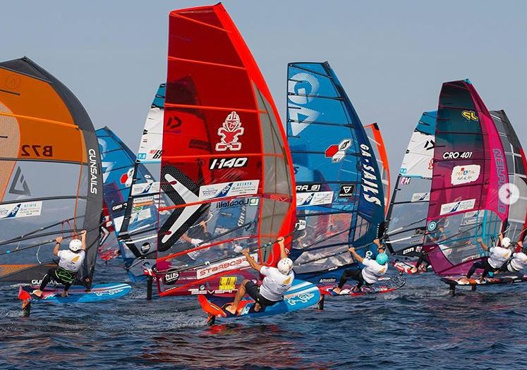 PWA windfoiling event in Japan 2019