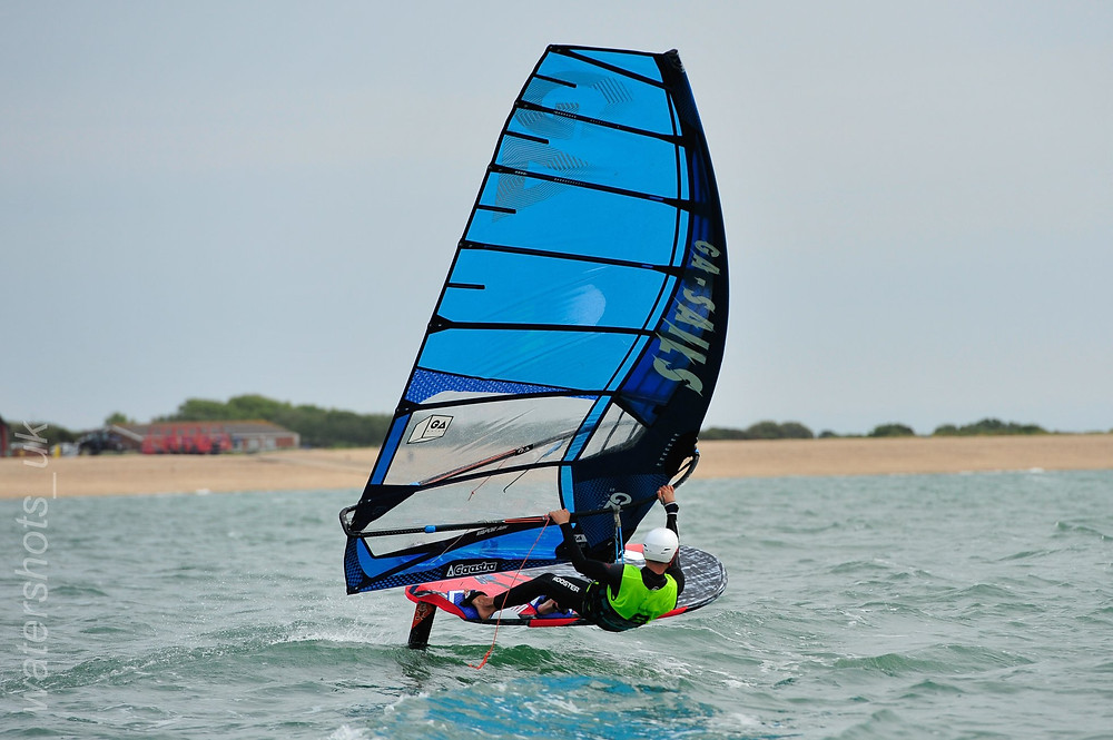 UKWA - National Championships Cup 2 - Stokes Bay - Foil team new wave