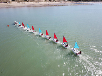Here we are, we are just 5 years old and we are sailing as a Pro!!