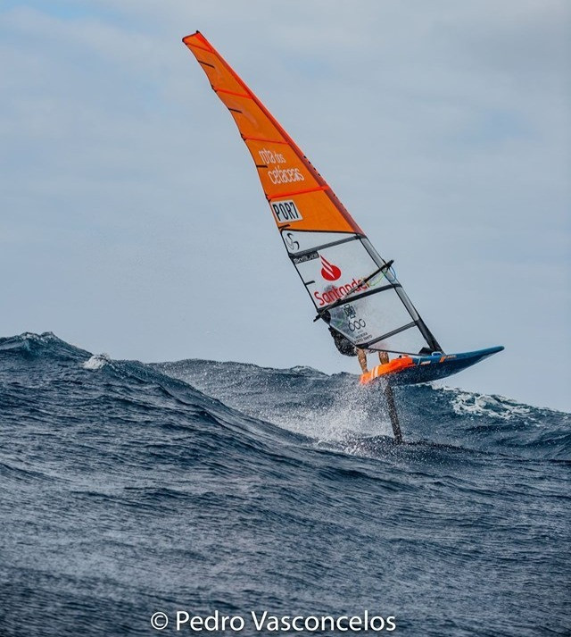 Joao Rodrigues in rough sea