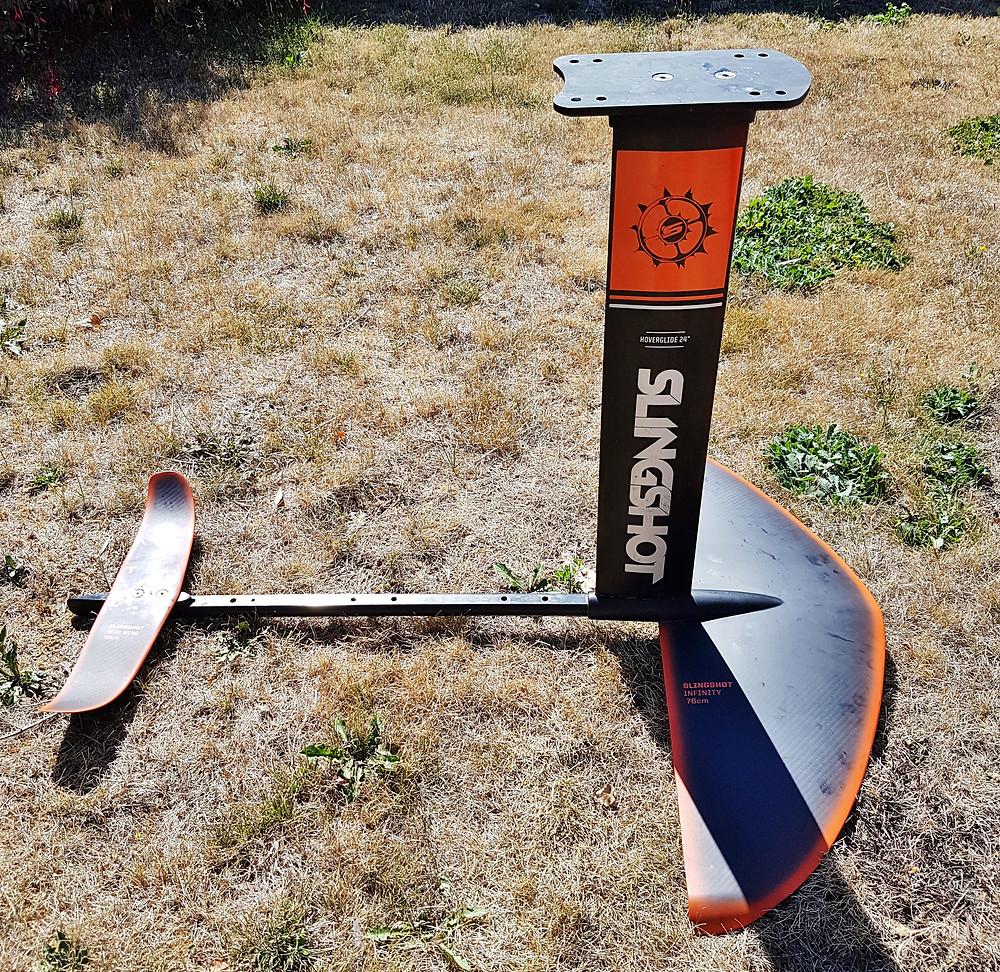 Slingshot Hoverglide windfoil