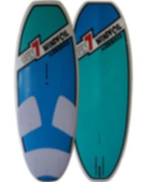 Zeeko windfoil board made by Sun7