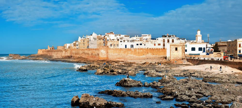 Windfoiling in Essaouira, Morocco
