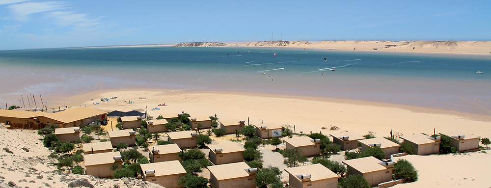 windfoiling in Dakhla