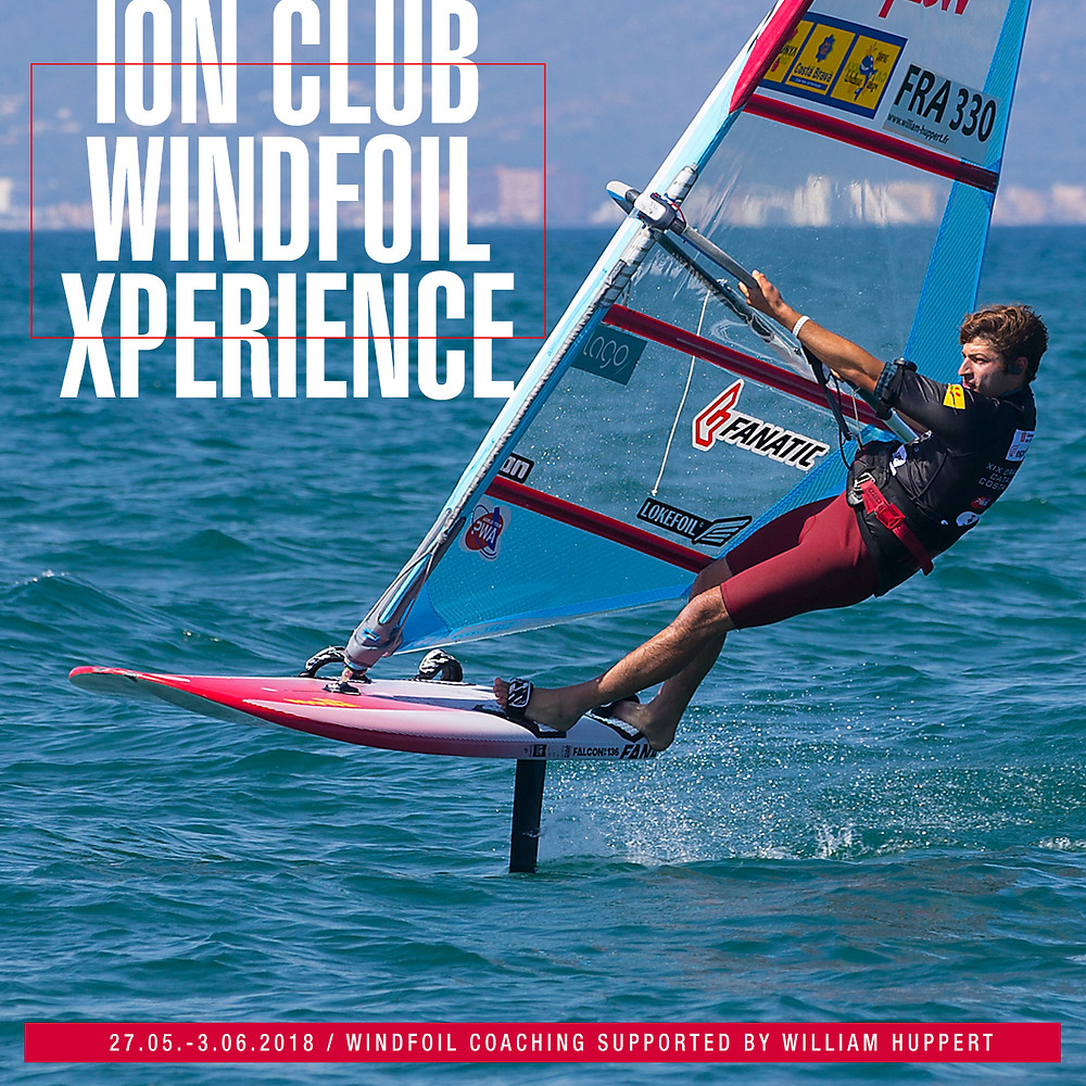 ION Club windfoil xperience