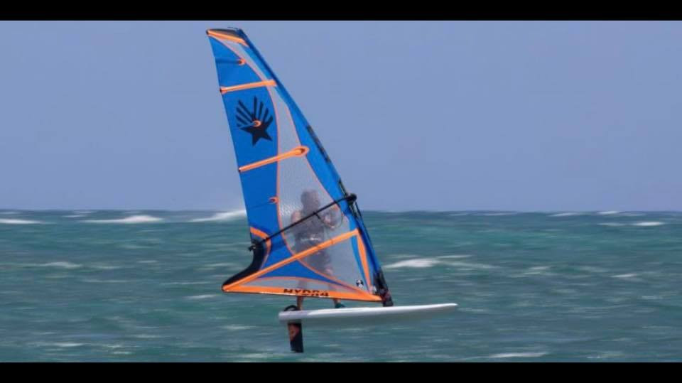 Ezzy Hydra windfoil sail