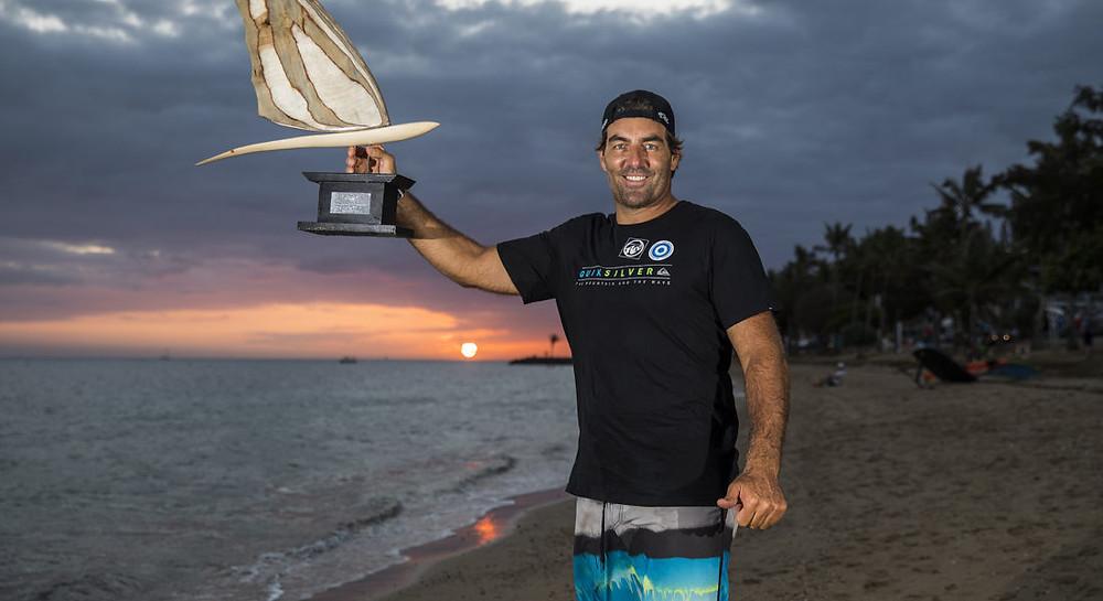 Antoine Albeau PWA world champion