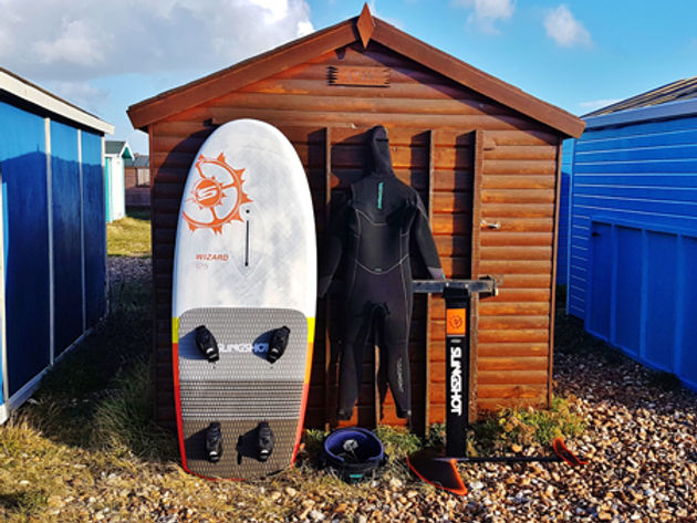 2019 Slingshot Wizard 125, windfoil specific board review