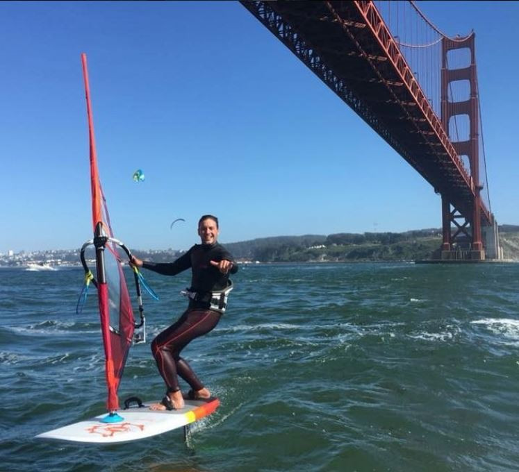Foiling in San Francisco