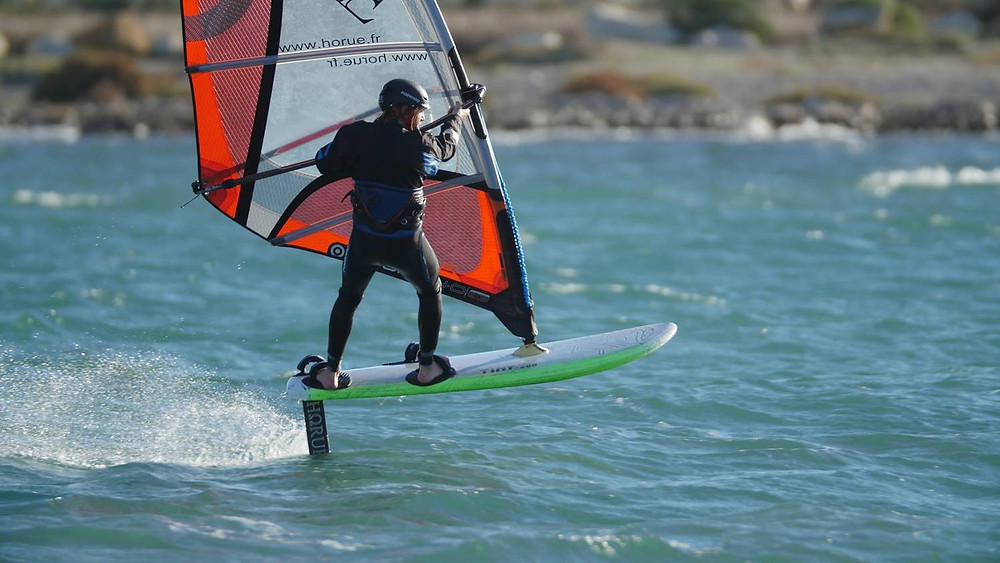 Philippe Caneri foiling with Horue Tiny and Vini