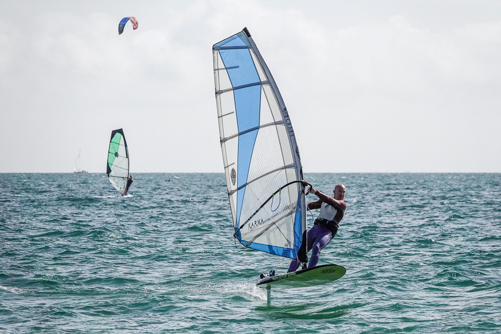 windfoiling freeride