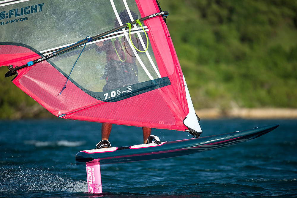 Neilpryde alloy windfoil