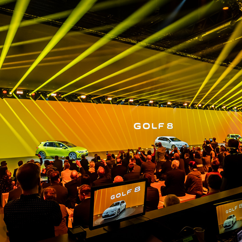 VW Golf 8 World Premiere