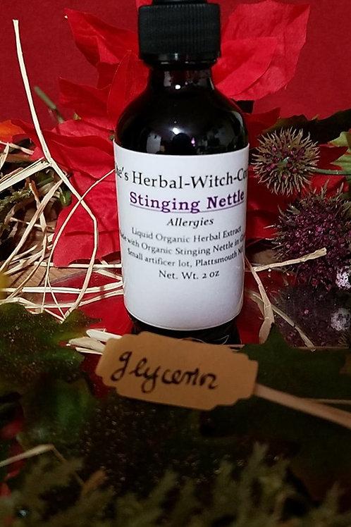 Stinging Nettle - Tincture 2 oz