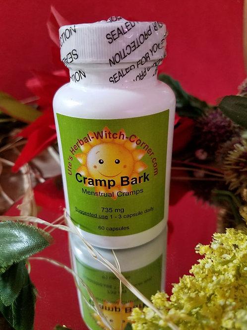 Cramp Bark  735 mg- 60 Capsules
