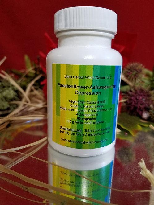 Passionflower - Ashwagandha 60 capsules