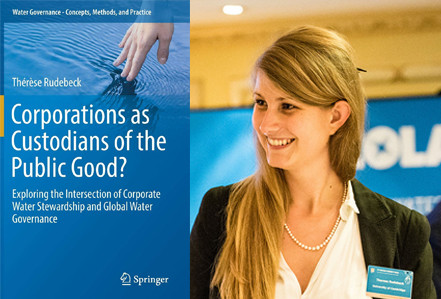 "Thérèse Rudebeck releases new book: ""Corporations as Custodians of the Public Good?"""