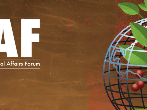 International Affairs Forum: Food & Water Security. Will Sarni, contributor.