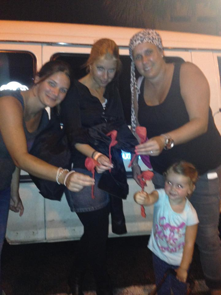 My Dutch guests with a Rose