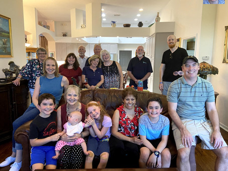 February 23, 2020: Family, Snowbirds,....and Revisions