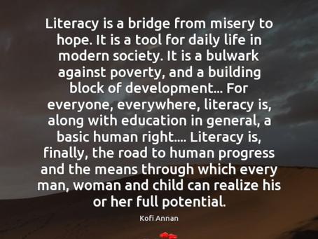 February 2, 2020: Literacy Week and School Visits