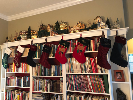 December 22, 2019- The Stockings Were Hung....