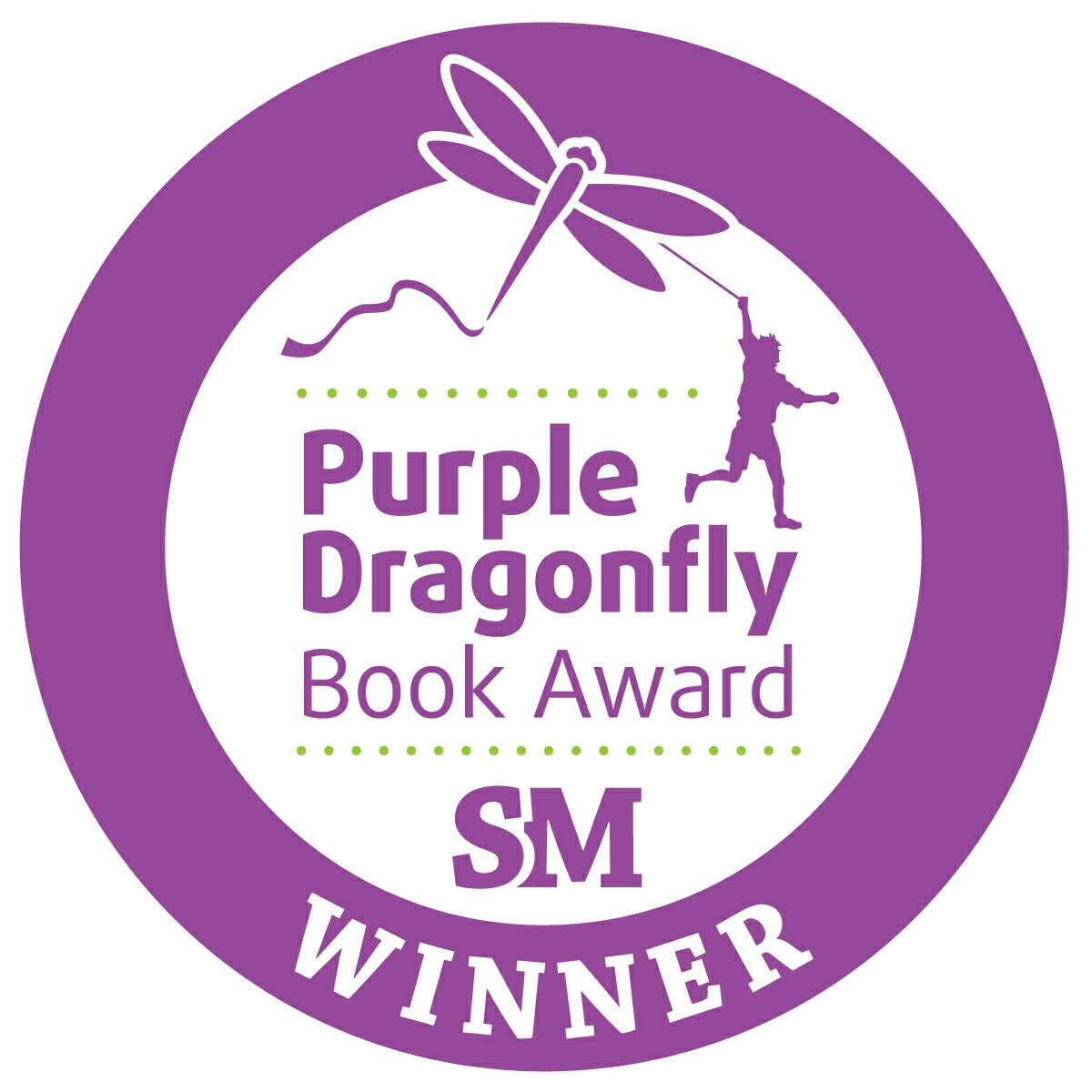 _Purple Dragonfly Winner Seal