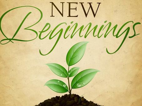 July 26, 2021: Beginnings