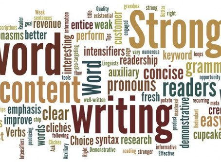 June 14, 2020- Writing Craft: Sentence Fluency