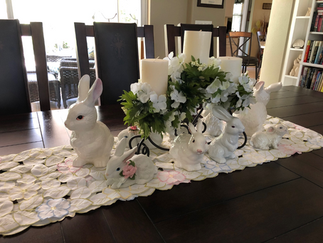 April 12, 2020: An Empty Holiday Table