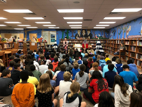 March 1, 2020: School Author Visits- One Writer's Perspective