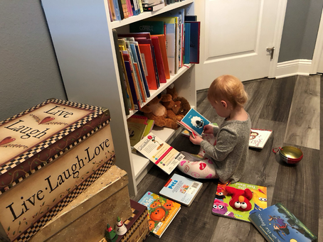 Feb. 14, 2021: A Love of Real Books!