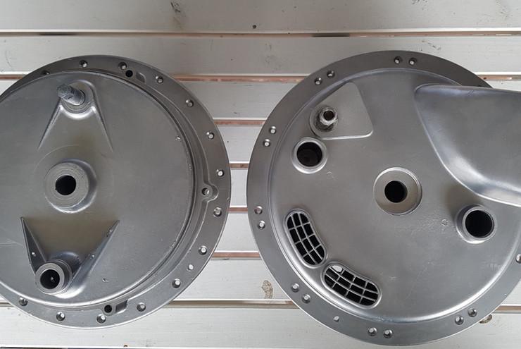 BSA conical hubs