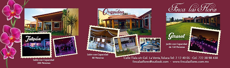 Eventos en toluca y metepec salon de fiestas for Salon jardin villa charra toluca