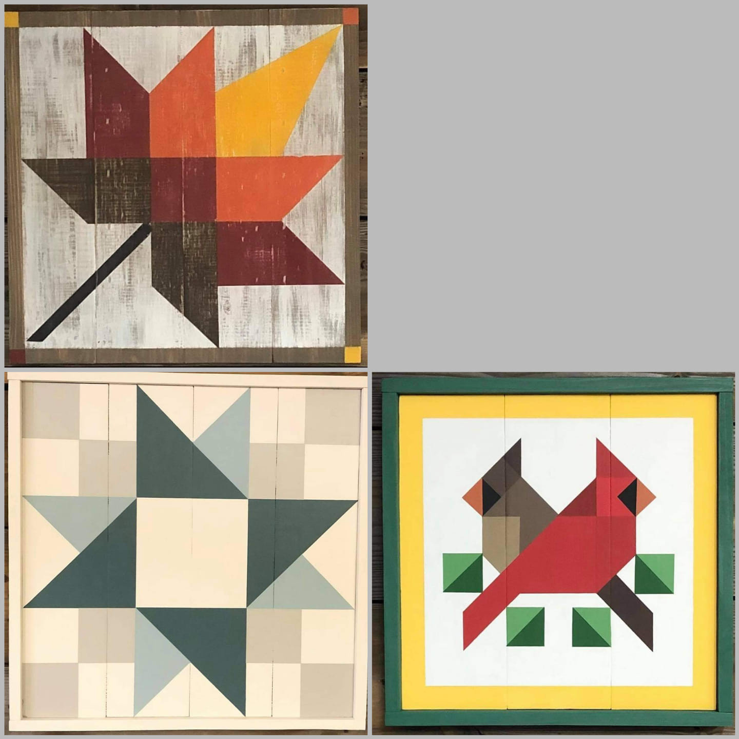 Painted Barn Quilt 08/07@11am