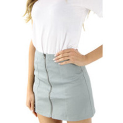 Minit Skirt with front Zipper