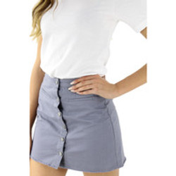 Cute Mini Skirt with Buttons