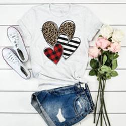 Three Heart Shirt