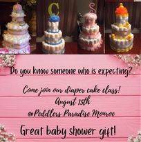 Make Your Own Diaper Cake 08/15@2pm
