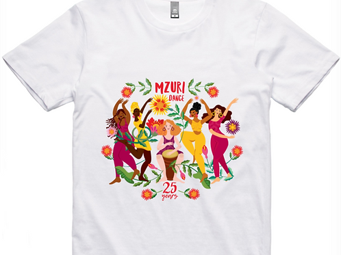 25 Year Mzuri Dance Unisex T-Shirt