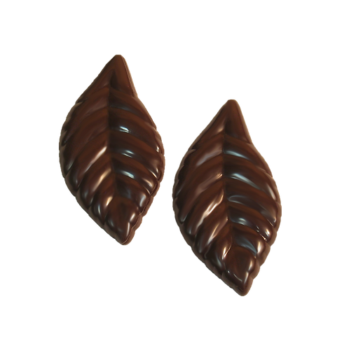 שני עלים משוקולד מריר