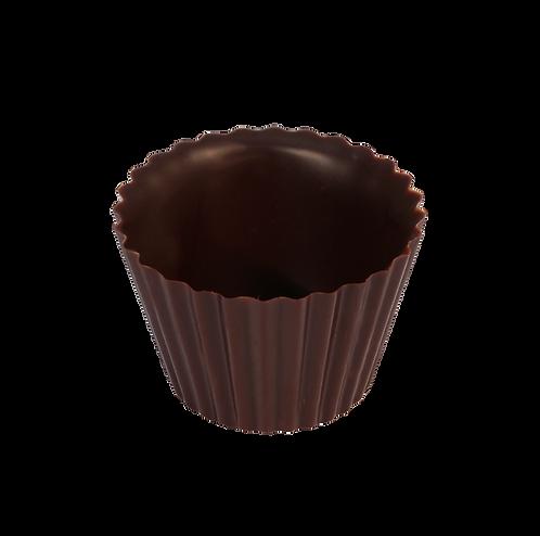 קערית בצורת עטרה משוקולד מריר