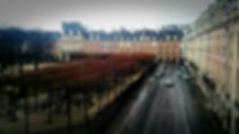 Place des Vosges in Paris, taken by Holman Photography from the Maison de Victor Hugo