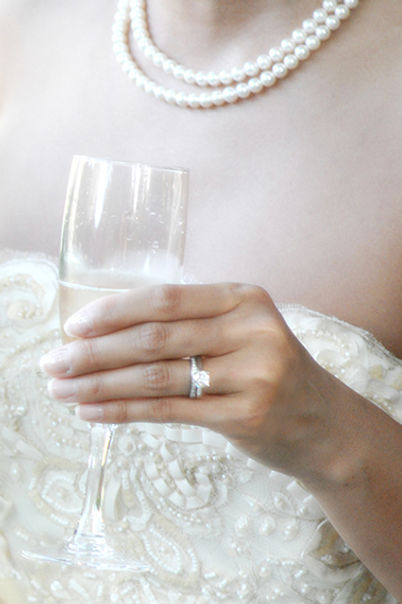 Wedding photography details, ring, jewelery, glass, Holman Photography